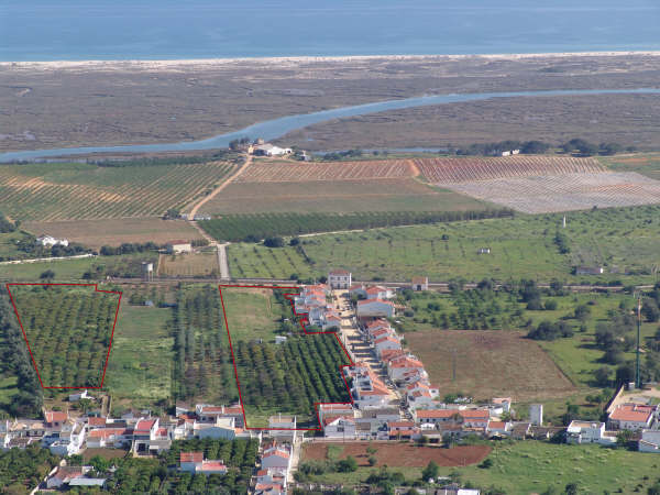 Land for development of 69 properties on 26 plots